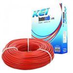 KEI Copper Wire, Size 1.5 sq mm, Color Red