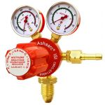 Ashaarc A.S.DG.ACT-2 Acetylene Gas Regulator, Max Outlet Pressure 0.8bar