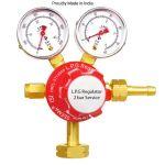 Seema S.S.DG.LPG-7 LPG Regulator, Max Outlet Pressure 2bar