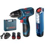 Bosch GSR 120-Li Cordless Drill Driver, Speed 0 - 1300rpm