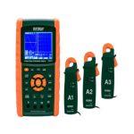 Extech PQ3470-2 3-Phase Graphical Power Analyzer Datalogger Kit, Voltage 600V