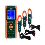 Extech PQ3470-12 3-Phase Graphical Power Analyzer Datalogger Kit, Voltage 600V