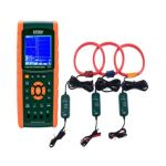 Extech PQ3470-30 3-Phase Graphical Power Analyzer Datalogger Kit, Voltage 600V