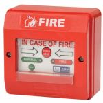 MOP PXDABG Digitally Addressable Fire Alarm System, Color Red