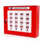 MOP AN24S Annunciation Panel, Color Red