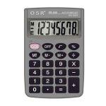 OSR SR-608 8Digit Calculator, Type Basic Calcualtor, Display 8Digit