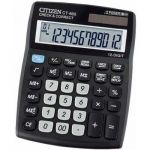 Citizen CT-600J 12Digit Basic Calculator, Type Basic Calcualtor, Display 12Digit, Warranty 1year