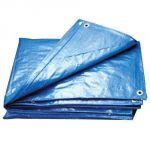 G-Paulin GP12015x9 Waterproof Cross Laminated Tarpaulin, Color Blue, Size 15 x 9ft, Grade 120GSM