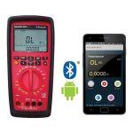 Rishabh 6012 BT Digital Multimeter, Counts 60000, Display 5