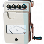 Rishabh DET-10 Earth Tester, Range 0 - 10 Ω, Scale Length 90mm