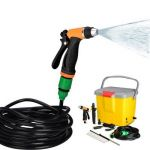 Homepro Portable Automatic Car Washer without Air Compressor, Weight 3.1kg, Capacity 16l, Dimension 38 x 32 x 30cm