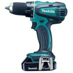 Makita DDF458RFE Cordless Driver Drill, Torque 91/58Nm, Capacity 13mm, Speed  0-2000/400 rpm, Weight 2.3kg, Voltage 18V