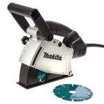 Makita SG1251J Wall Chaser, Power 1400W, Capacity 125mm, Speed 10000rpm, Weight 4.5kg