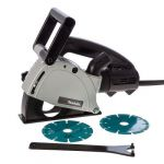 Makita SG1250 Wall Chaser, Power 1400W, Capacity 125mm, Speed 9000rpm, Weight 4.4kg