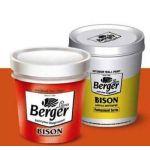 Berger 006 Bison Acrylic Distemper, Capacity 1l, Color Summer Sand