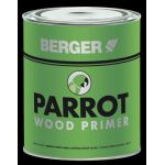 Berger 000 Parrot Wood Primer, Capacity 4l, Color White