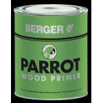 Berger 633 Parrot Wood Primer, Capacity 4l, Color Grey