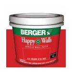 Berger 012 Happy Wall Acrylic Putty, Weight 5kg