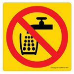 Safety Sign Store CW612-105V-01 Do Not Drink-Graphic Sign Board