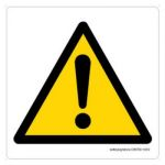 Safety Sign Store CW708-105V-01 Danger:-Graphic Sign Board