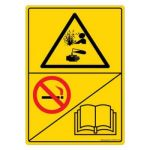 Safety Sign Store DS502-A6PC-01 Danger: Explosion Hazard - Graphic Sign Board