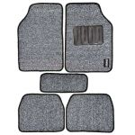 Leganza A2CW14Car Footmat, Color Grey, Material PVC, Finish Textured