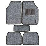 Leganza A2CW144-GREYCar Footmat, Color Grey, Material PVC, Finish Textured