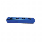 Techno Manifold, Size 1/4inch, Color Blue, No. of Ways 2, Thread Size 1/4inch