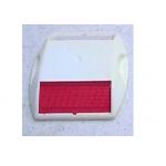 Ennis/ Stimsonite KE-ER Road Stud, Size 81 x 116 x 17mm, Color White