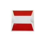 Kohinoor KE-CHR Plastic Road Stud, Size 100 x 100 x 20mm, Color Red
