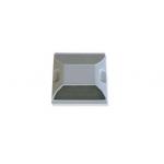 Kohinoor KE-CHW Plastic Road Stud, Size 100 x 100 x 20mm, Color White