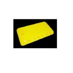 Kohinoor KE-ABSRUM ABS Rumble Strip, Size 250 x 150 x 30mm, Color Yellow