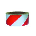 Kohinoor KE-ZEBRW Zebra Marking Tape, Size2inch x 27m , Color Red &White