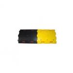 Kohinoor KE-75400SB ABS Speed Bump, Color Yellow Black, Lenght 500mm