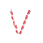 KE-LCH Pastic Chain, Size Light, Color Red/White