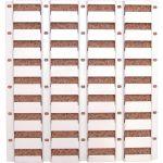Matlock MTL4042004P MTLP4 Louvred Panel, Width 450mm, Height 450mm
