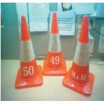 Frontier FTC-OP 500 S Traffic Cone, Base Size 500mm