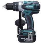Makita BDF458RFE Cordless Driver Drill, Weight 2.3kg, Voltage 18V, Speed 0-2000/400rpm