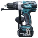 Makita BHP458RFE Cordless Hammer Driver, Weight 2.3kg, Voltage 18V, Speed 0-2000/400rpm