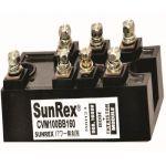 Sunrex CVM100BB160 Thyristor, Current 100A, Voltage 1600V
