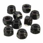 Self-Locking Lock Metric Insert Nylock Bolt Hex Nut, Size M3