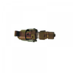 Techno Pipe Clamp, Plug Size 3/8inch, Pipe(OD) 9.52mm