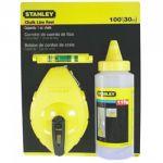 Stanley STHT47443-8 W/Blue Chalk Line Level, Size 30m