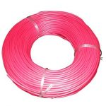 KEI Flame Retardant Zero Halogen Cable, Nominal Area 0.75sq mm, Current 9A, Color Red