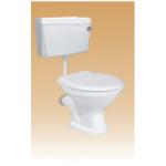 Ivory PVC Cistern With Fitting(Sleek) - Calico