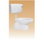 White PVC Cistern With Fitting(Sleek) - Calyx