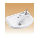White Wall Hung Basin - Esatta