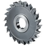Indian Tool HSS Side Cutter, Diameter 200mm, Bore 40mm, Width 16mm