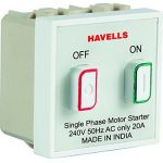Havells AHOO252504 Motor Starter, Current 25A, Model Oro