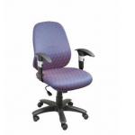 Zeta BS 157 Low Back Chair, Mechanism Sinkrow Tilt, Series Executive